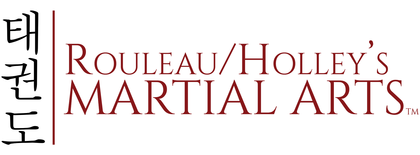 Rouleau-Holley's Martial Arts Logo